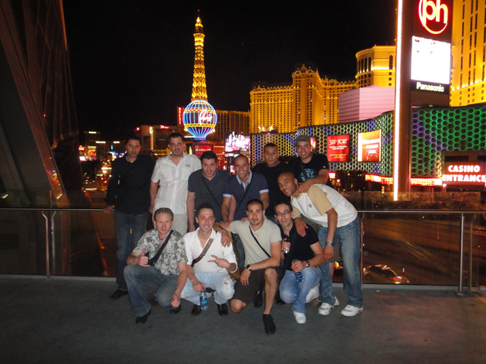 team on the strip